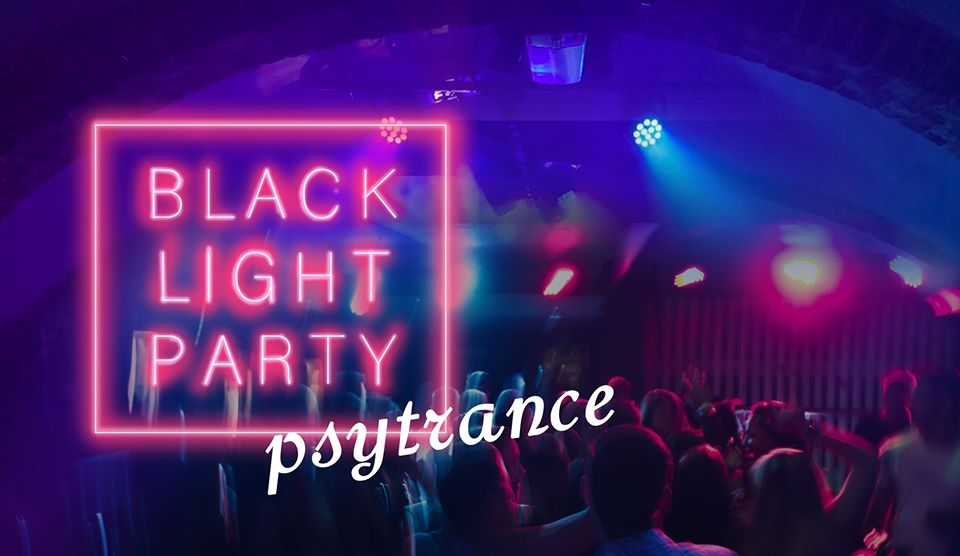Blacklight party: psytrance edition